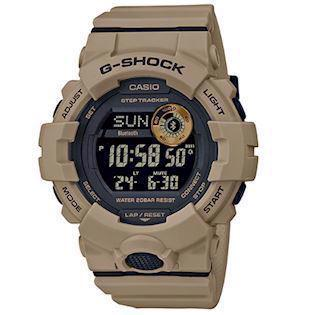 Casio G-Shock army brun resin (5554) multifunktions quartz Herre ur, model GBD-800UC-5ER