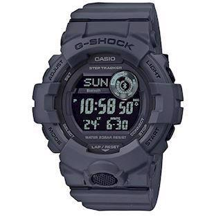 Casio G-Shock grå-blå resin (5554) multifunktions quartz Herre ur, model GBD-800UC-8ER