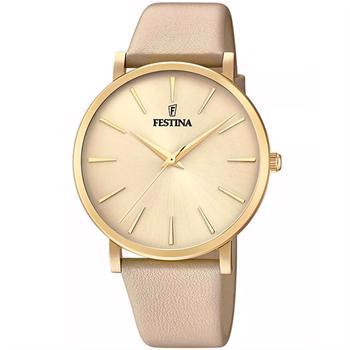 Festina Ladies Forgyldt stål quartz Dame ur, model F20372_2