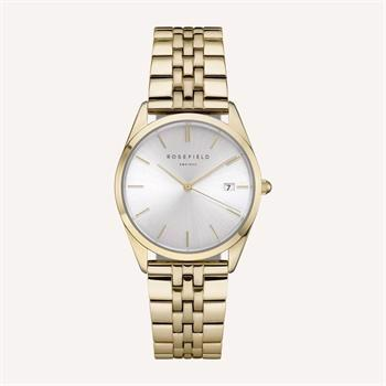 Rosefield The Ace Collection guld stål Miyota quartz dame ur, model ACSG-A03