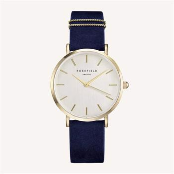 Rosefield The West Village Collection guld stål Miyota quartz dame ur, model WBUG-W70