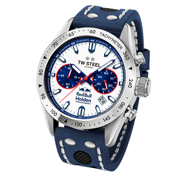 TW Steel 46 mm Hvid med blå detaljer Movement 6S21 Miyota Herre ur, model TW998