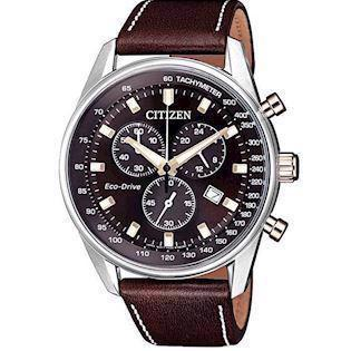 Citizen Eco-Drive blank rustfri stål Eco-Drive Quartz Herre ur, model AT2396-19X