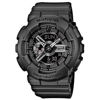 Casio Baby-G Sort resin Batteridrevet quartz Unisex ur, model BA-110BC-1AER