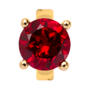 650-G08Garnet , Christina Design London rings med granat
