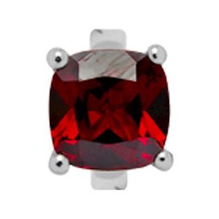650-S10Garnet , Christina Design London rings