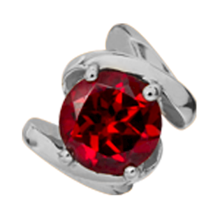 650-S11Garnet , Christina Design London rings