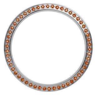 Christina Design London Collect Top Ring med 54 Orange Safirer