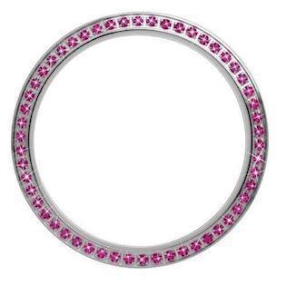 Christina Design London Collect Top Ring med 54 Pink Safirer