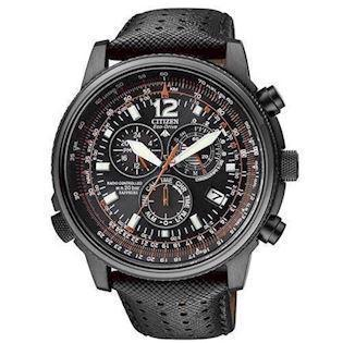 Citizen Promaster Sky mat sort rustfri stål quartz med Eco-Drive Herre ur, model AS4025-08E