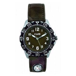 Club Time kompas Chrom Quartz dreng ur, model A56533S12A