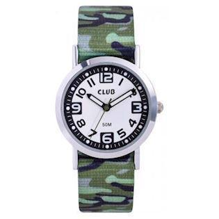 Club Time army Chrom Quartz dreng ur, model A65184S12A