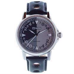 No Watch 24 timers ur med sort racer urrem, CL1-1212