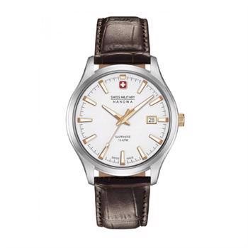 Swiss Military Hanowa Major Rustfri Stål quartz med tre visere herre ur, model 643030400109