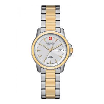 Swiss Military Hanowa Recruit Lady Prime Rustfri Stål quartz med tre visere dame ur, model 67044155001